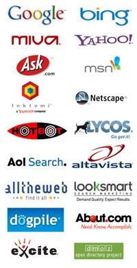 web-search-engine-logos